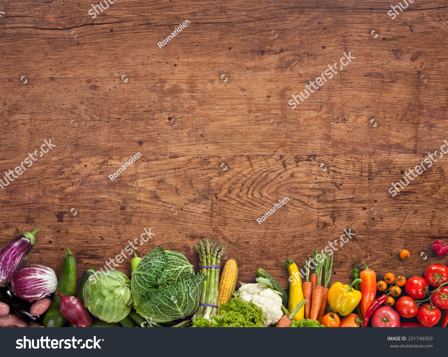Food background studio photo of different fruits and vegetables - Healthy Food Background Studio Photography Of Different Fruits And Vegetables On Old Wooden Table