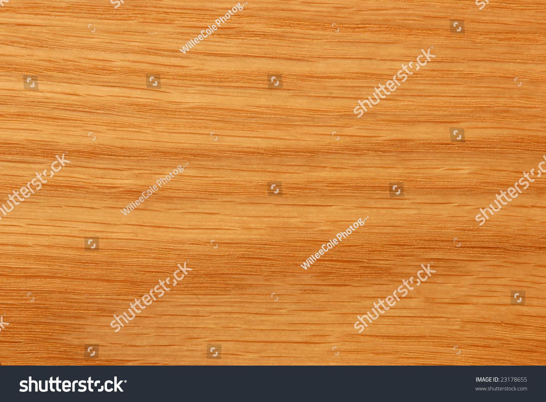 Yellow Oak Lumber ~ Details on a golden oak wood veneer texture stock photo