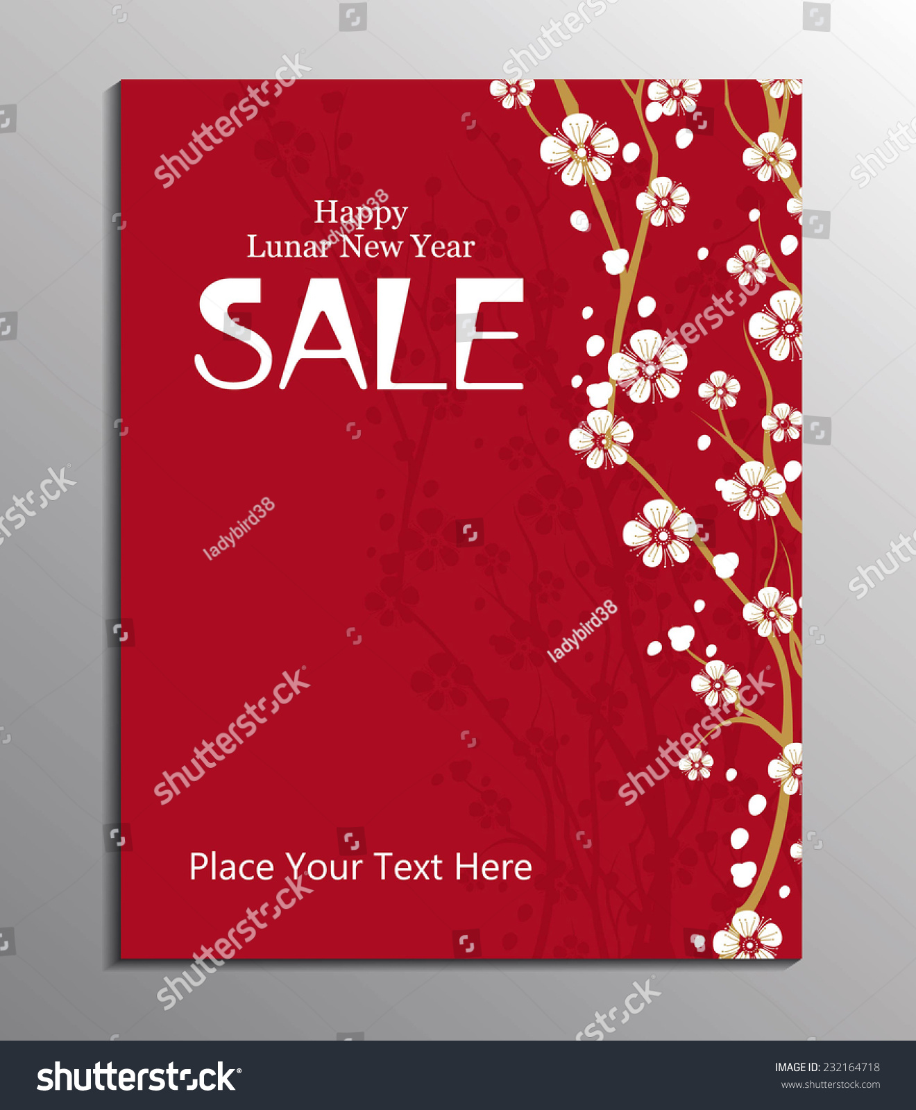 chinese new year design template stock vector  chinese new year design template