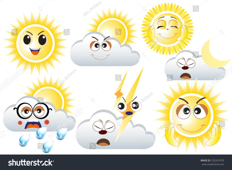 emoticons sunny cloudy - photo #4