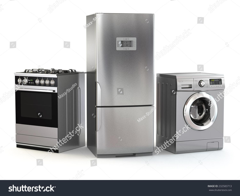 Home Appliances Set Household Kitchen Technics Stock Illustration 232583713 Shutterstock