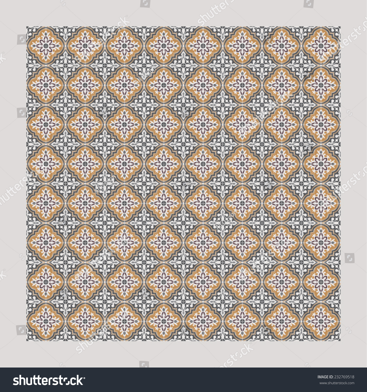 Turkish Design Wallpaper : Damask background pattern design wallpaper