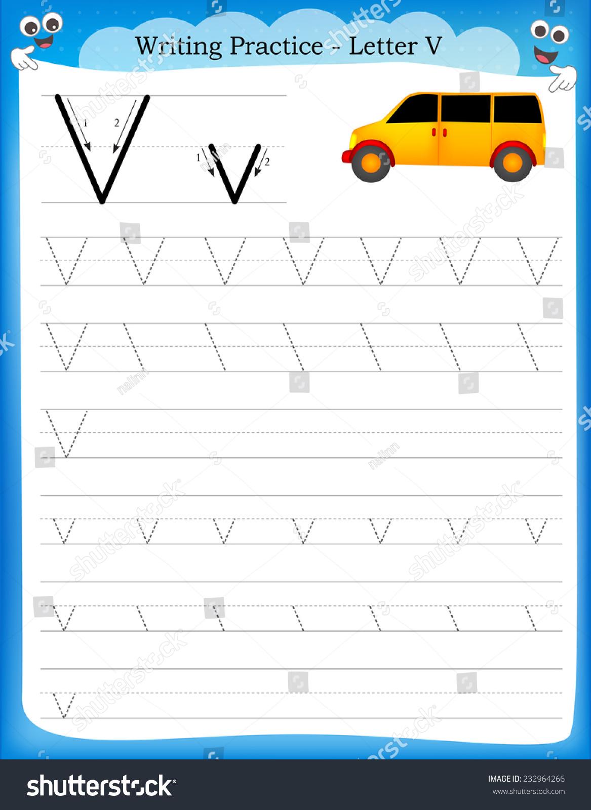 writing for kindergarten