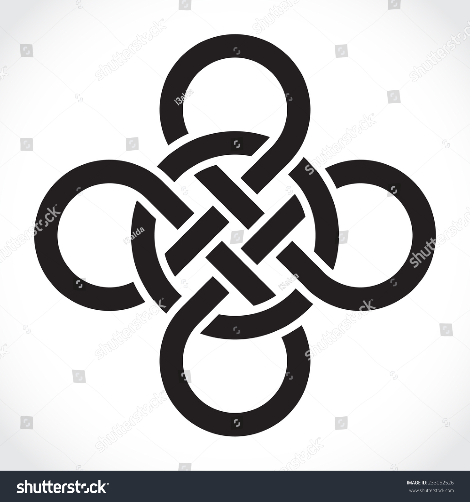 Celtic Symbol Illustration Stock Vector Royalty Free 233052526
