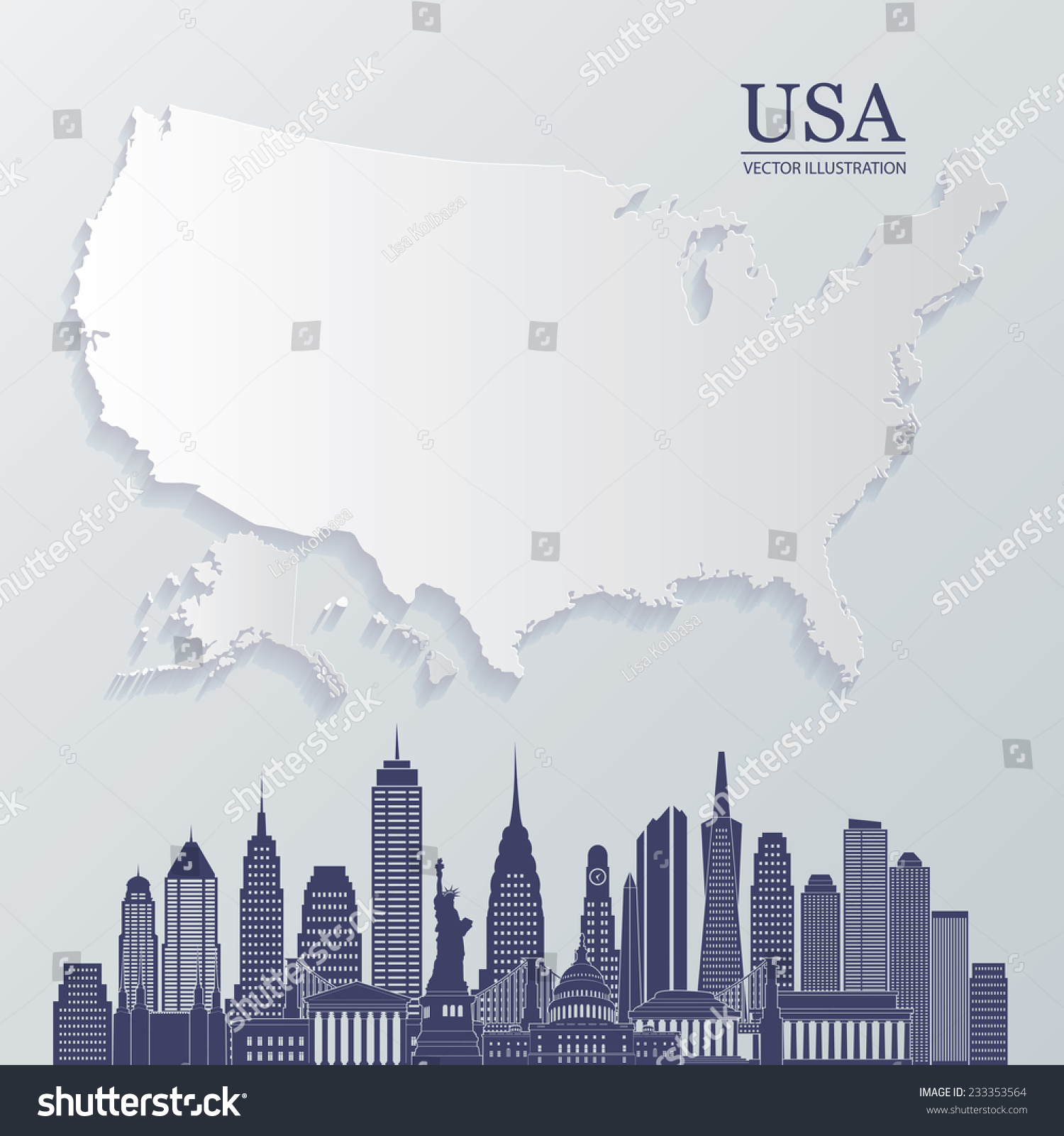 Collection Of Diagram Us Map Blank Vector Millions Diagram And - Blank us map vector