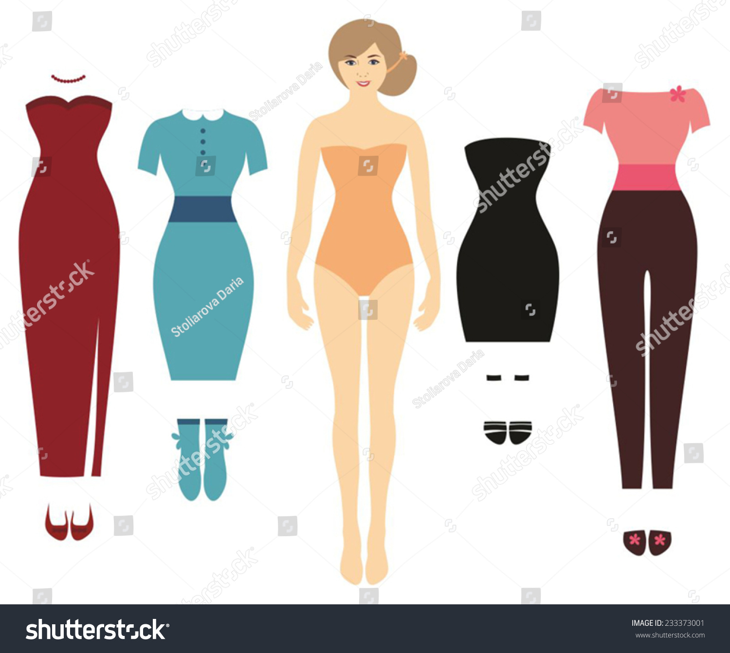 body template woman