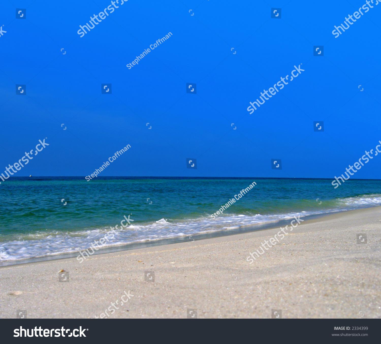 Calm Ocean Waves Stock Photo 2334399 : Shutterstock