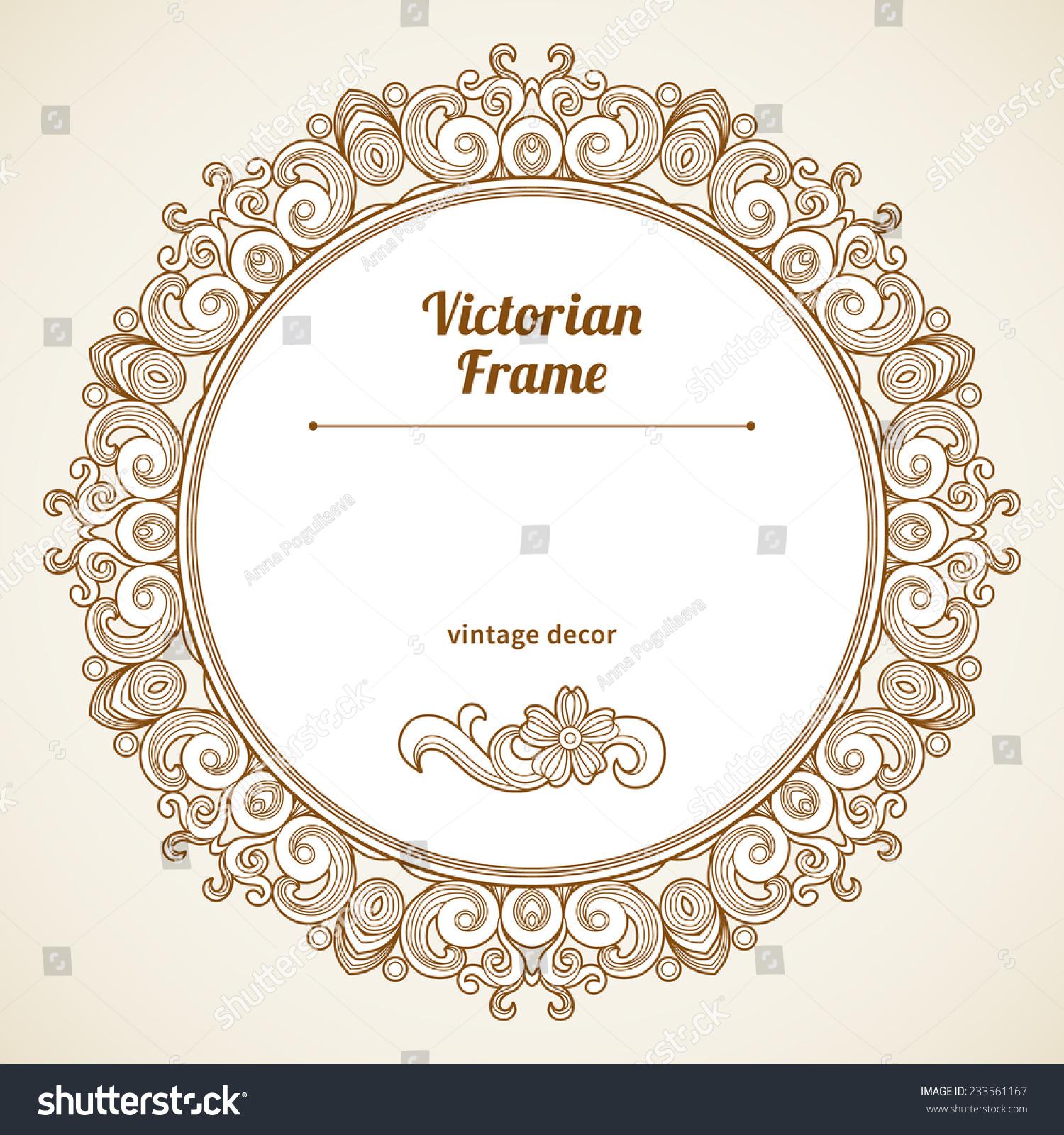 Victorian Circle Border - Bing images