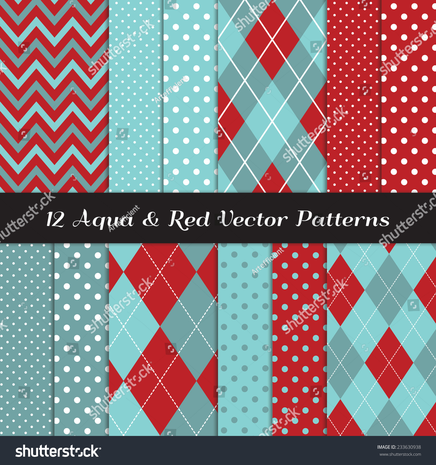 Pics photos merry christmas argyle twitter backgrounds - Two Tone Aqua Blue And Red Chevron Argyle And Polka Dot Patterns Soft Aqua