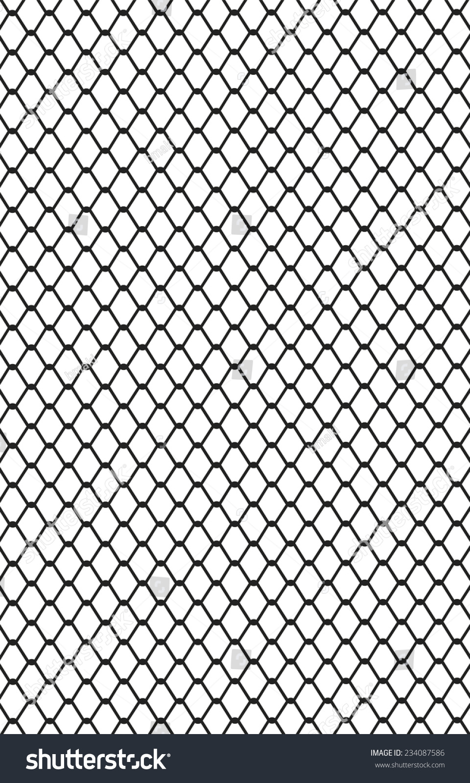 Picture Metal Wire Mesh Made Steel Stock Vector 234087586 - Shutterstock