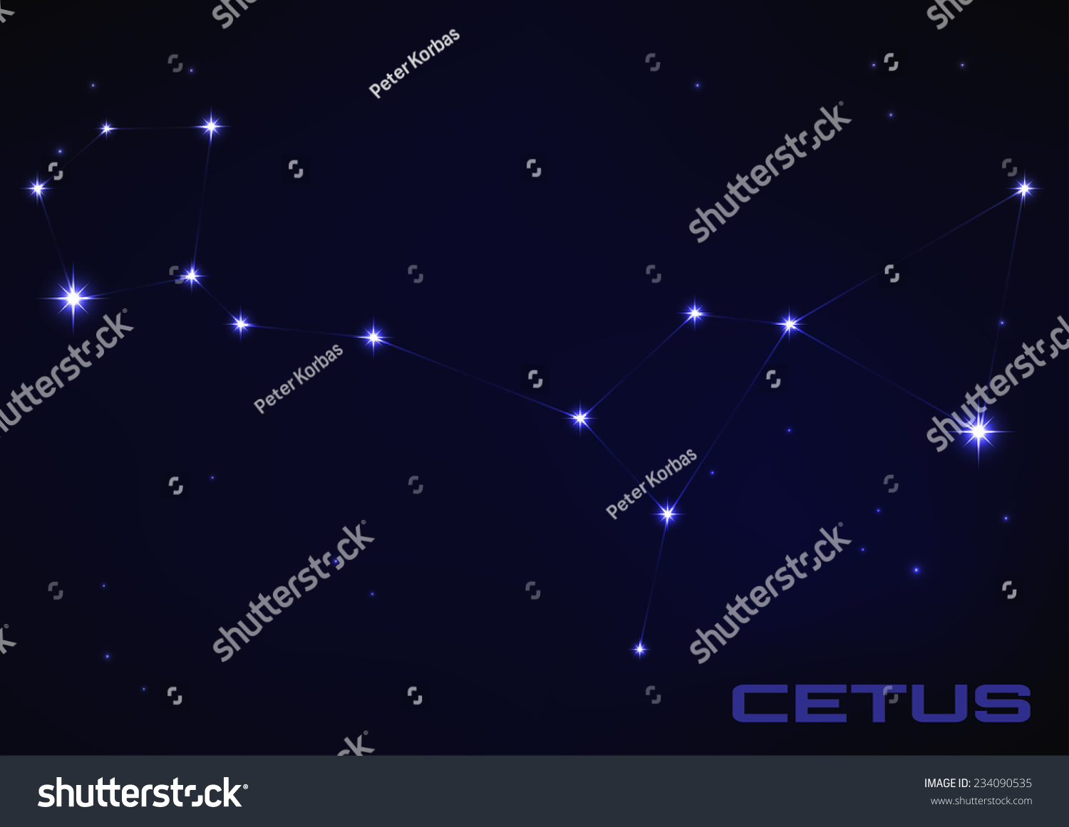 Cetus Constellation