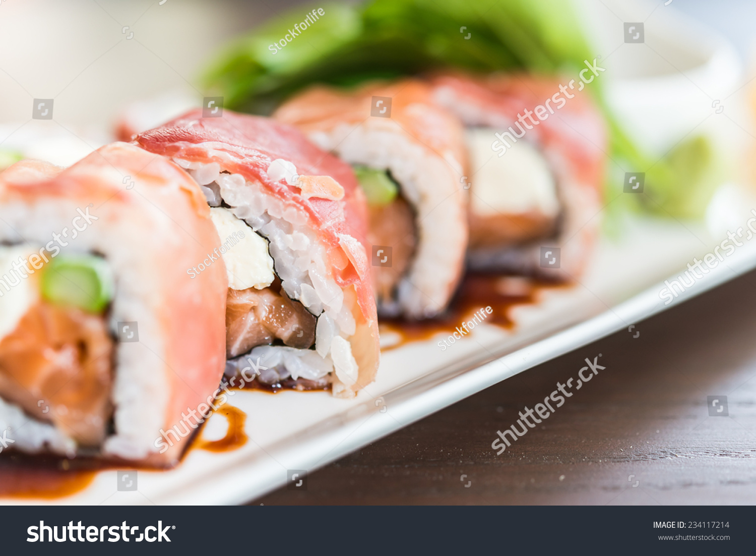 how to cook salmon for sushi