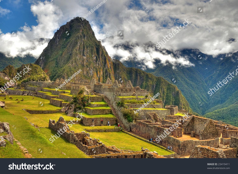 Modern 7 wonders of the world - Gorgeous Machu Picchu One Of The Modern Seven Wonders Of The World