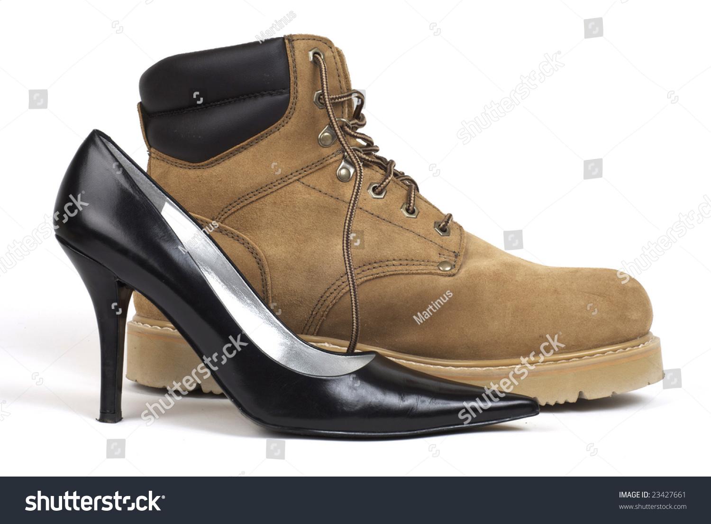 One High Heel
