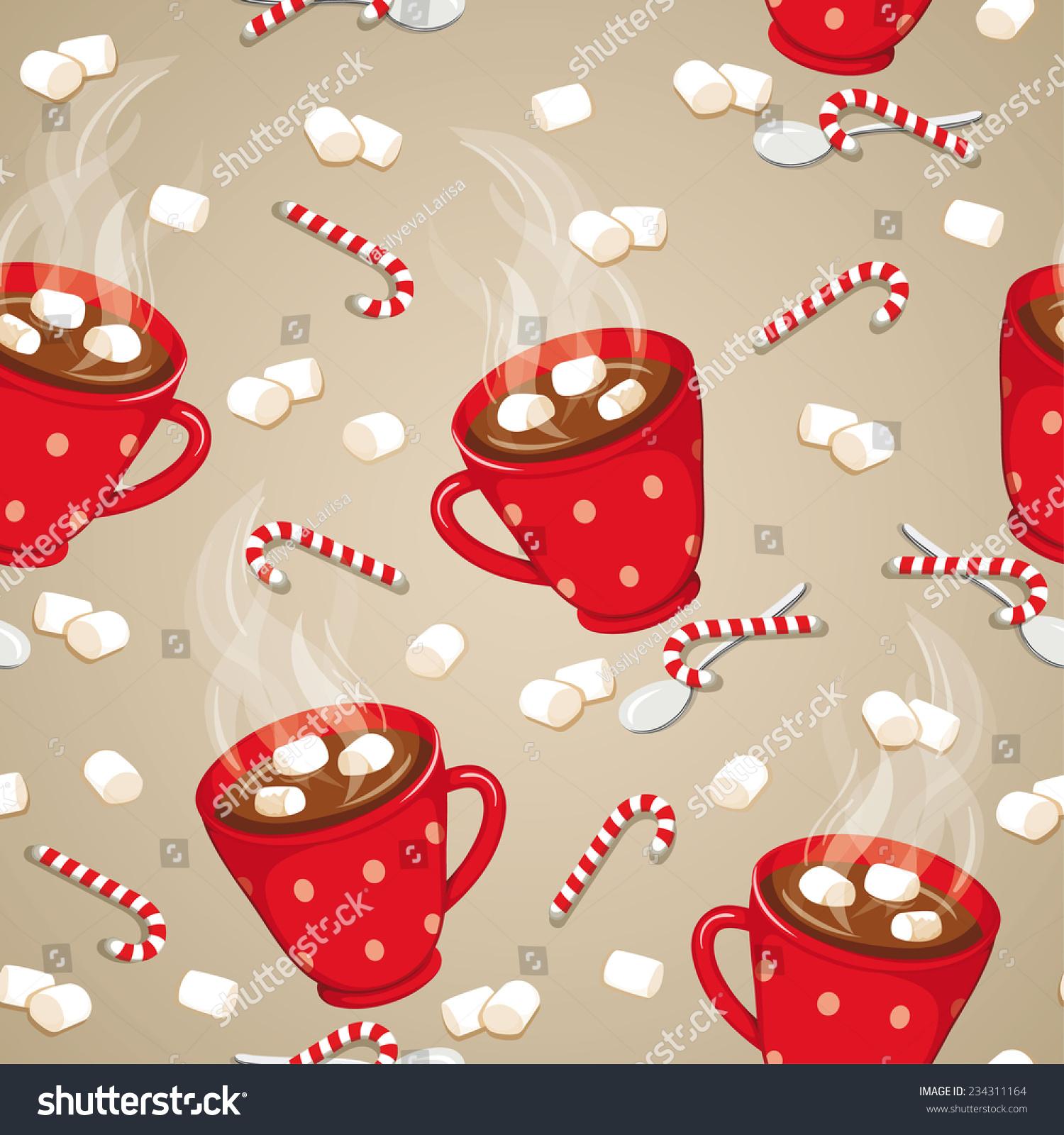 Christmas Hot Chocolate Clip Art