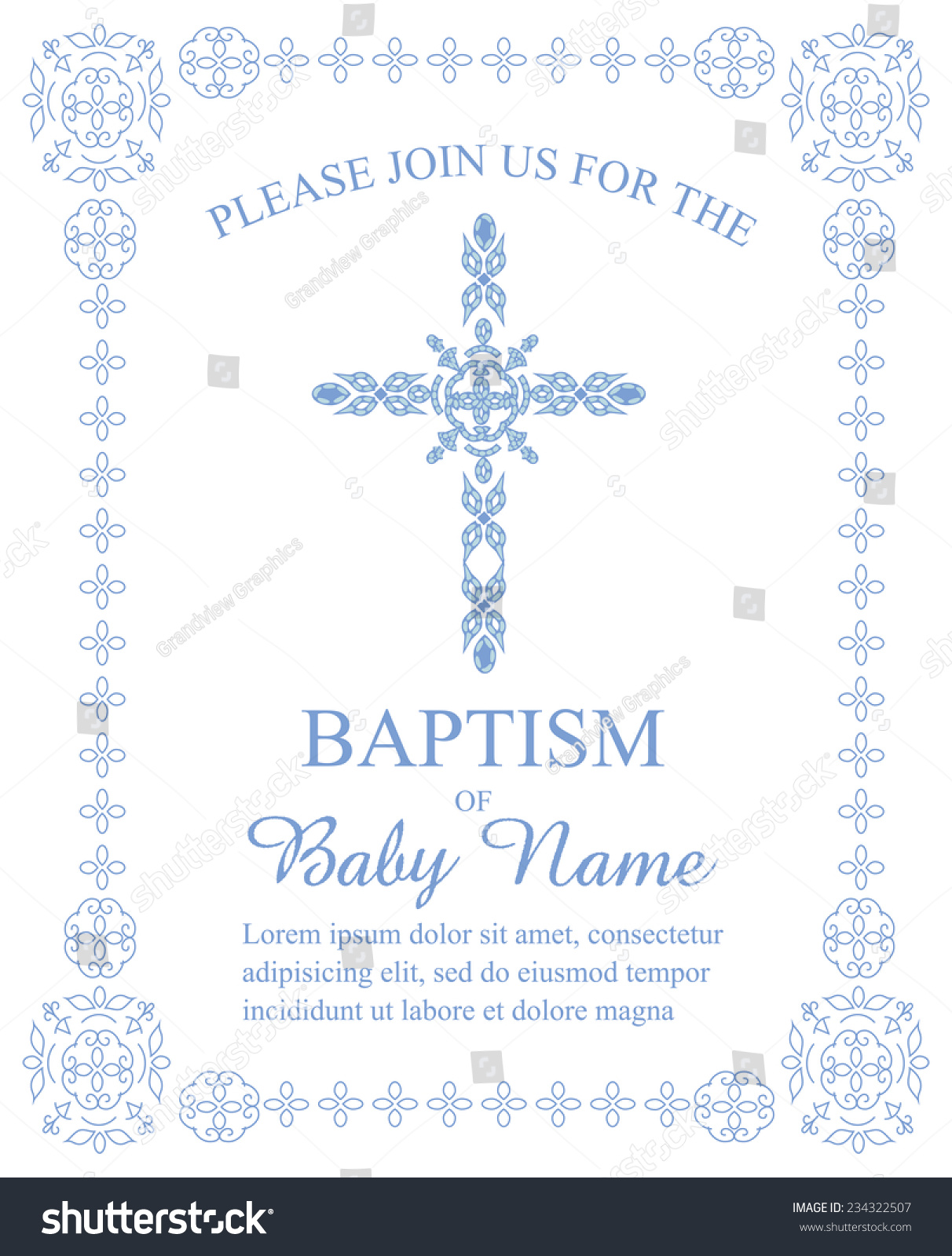 Baptismal Invitation Message was best invitations sample