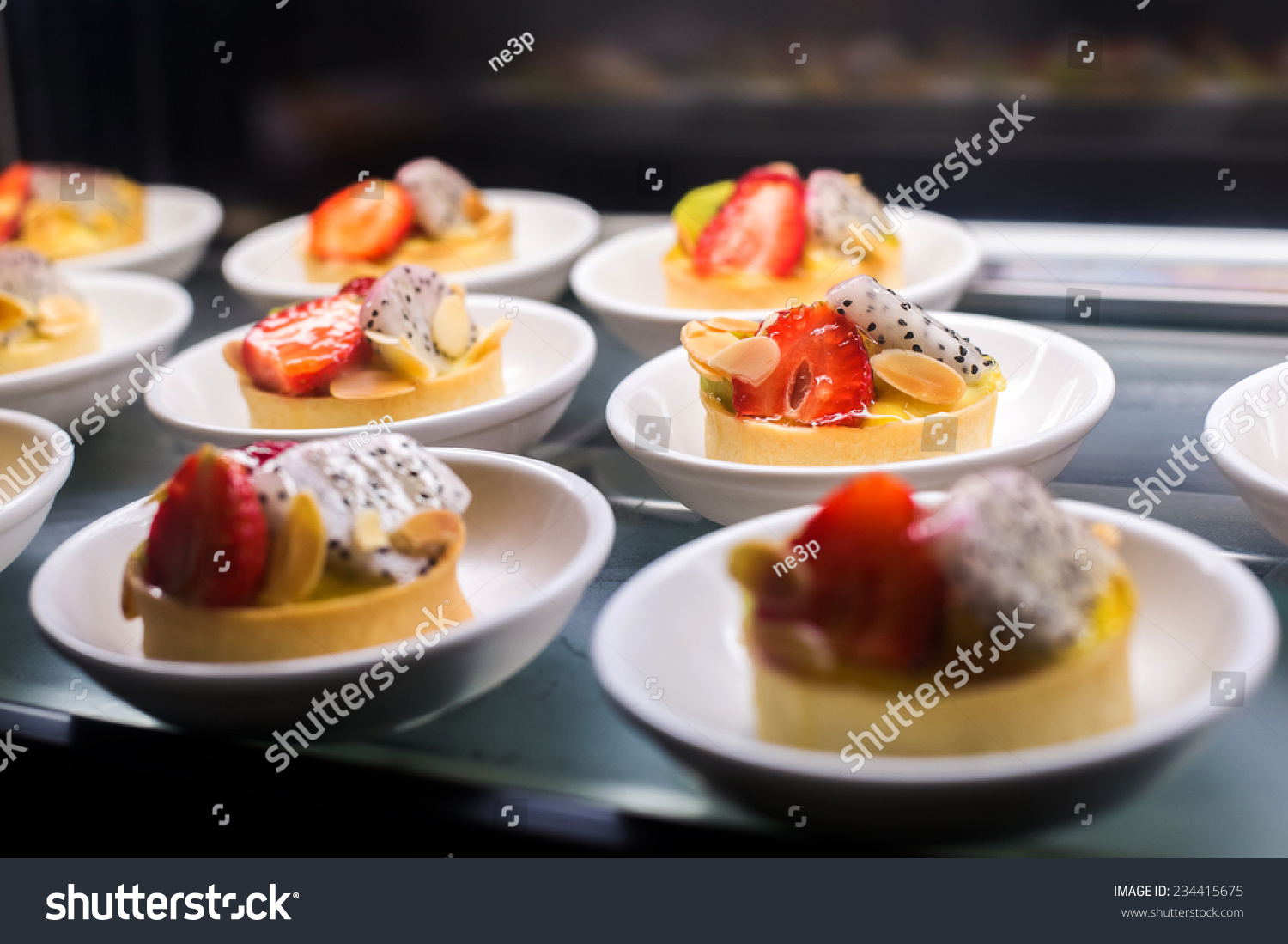 Dessert canape stock photo 234415675 shutterstock for Canape desserts
