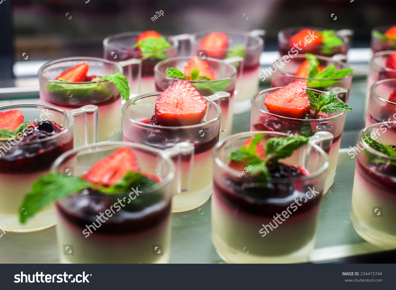 Dessert canape stock photo 234415744 shutterstock for Canape desserts