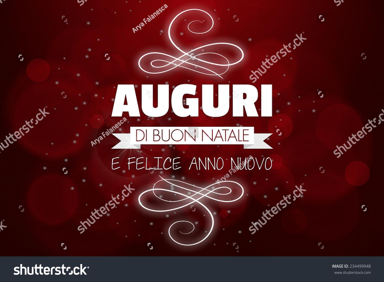 Auguri Di Buon Natale Translation