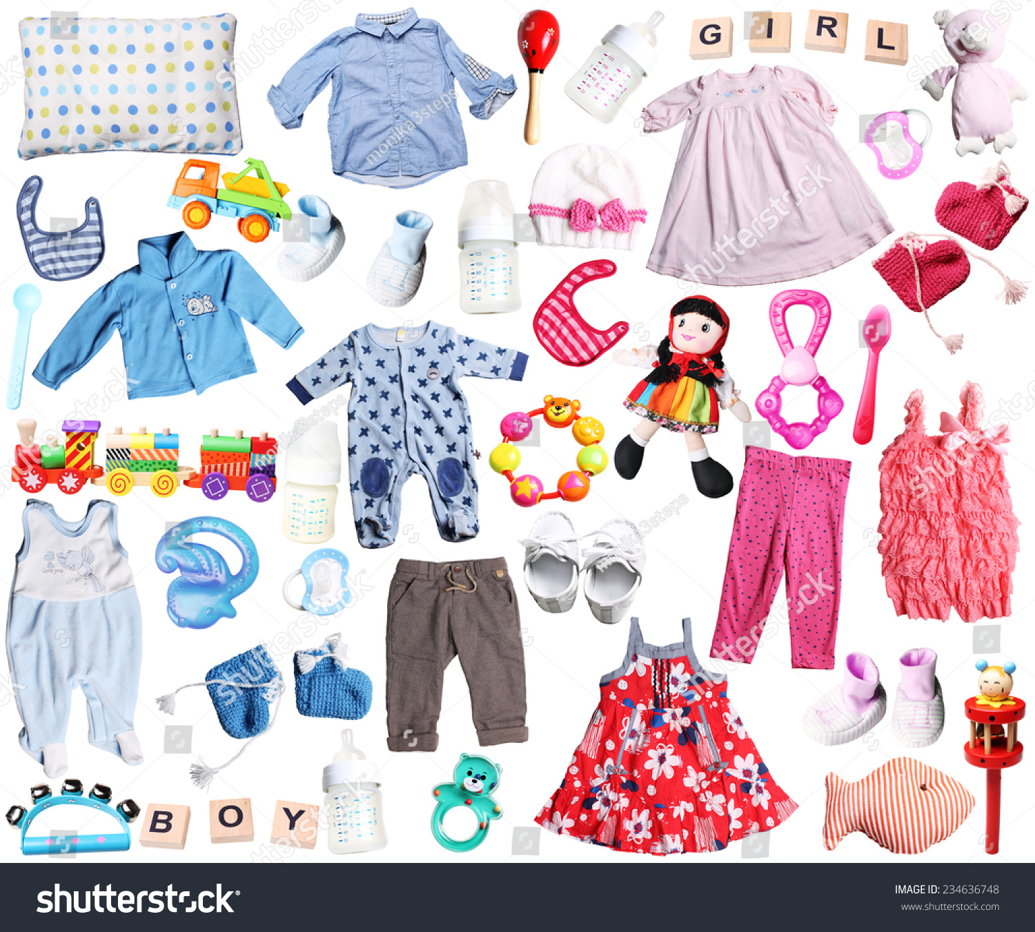 Clothes Accessories Baby Boy Girl Stock Safe to Use