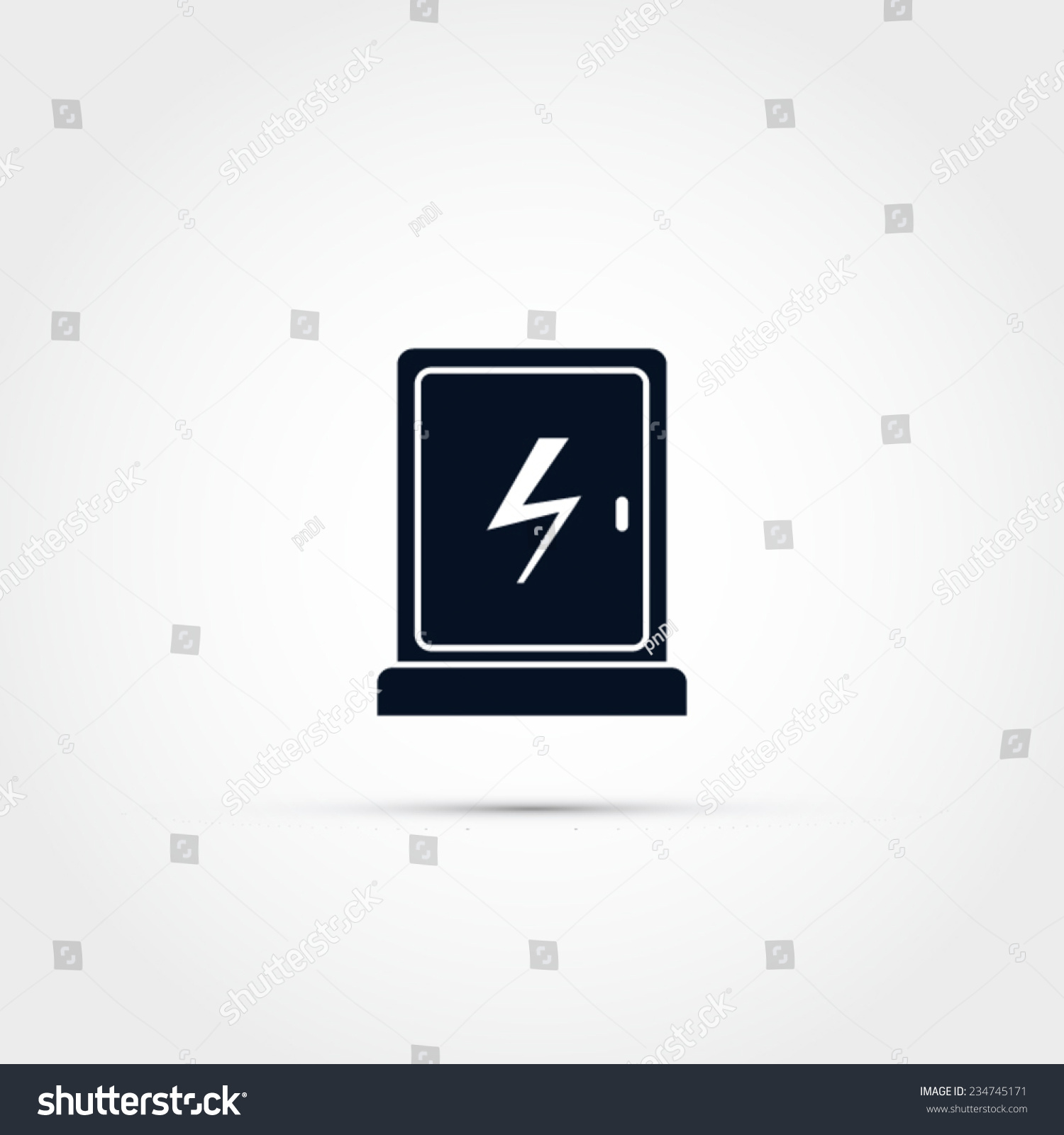 Electric distribution box vector stock vector 234745171 shutterstock electric distribution box vector biocorpaavc