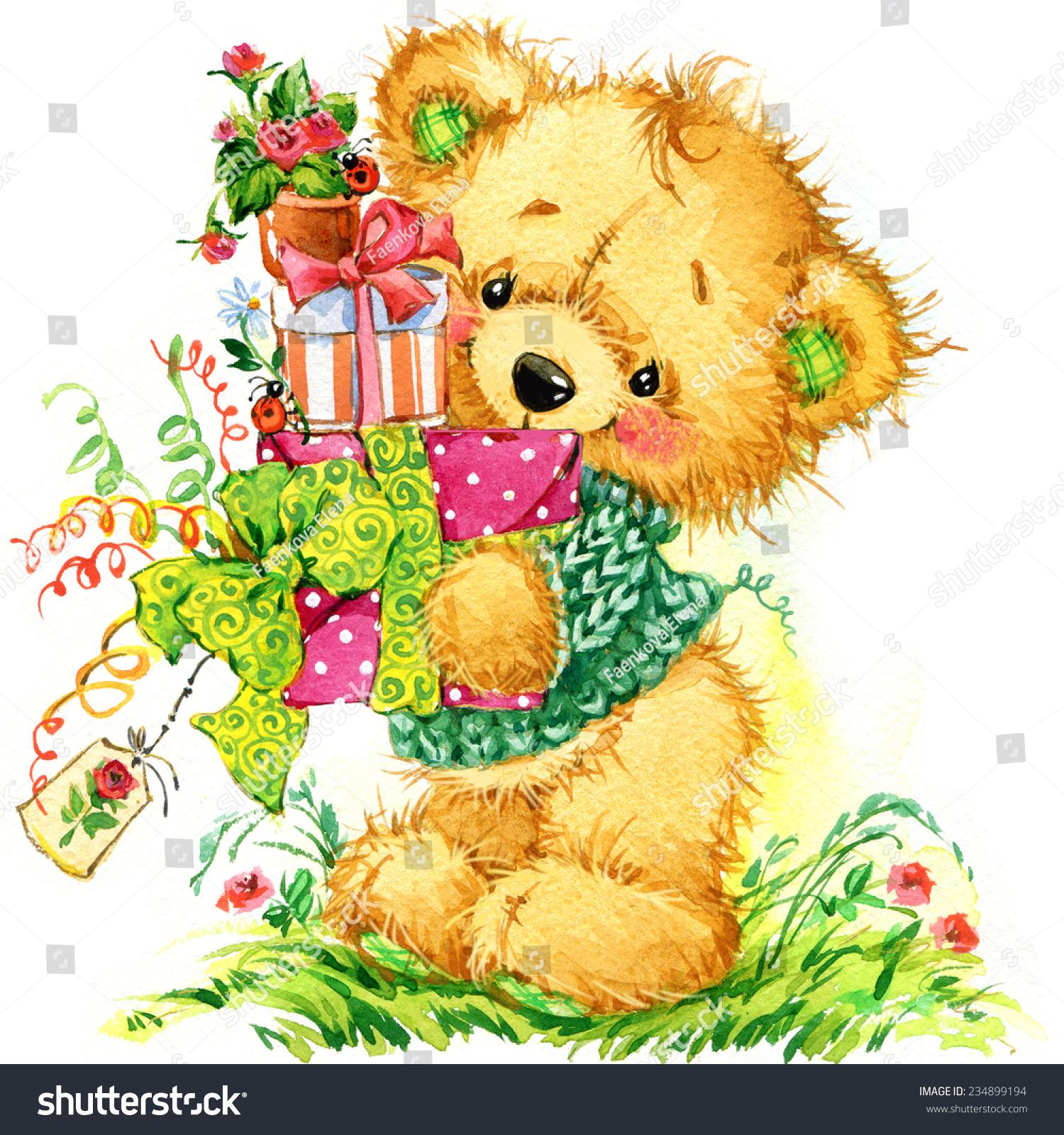 teddy grußkarten
