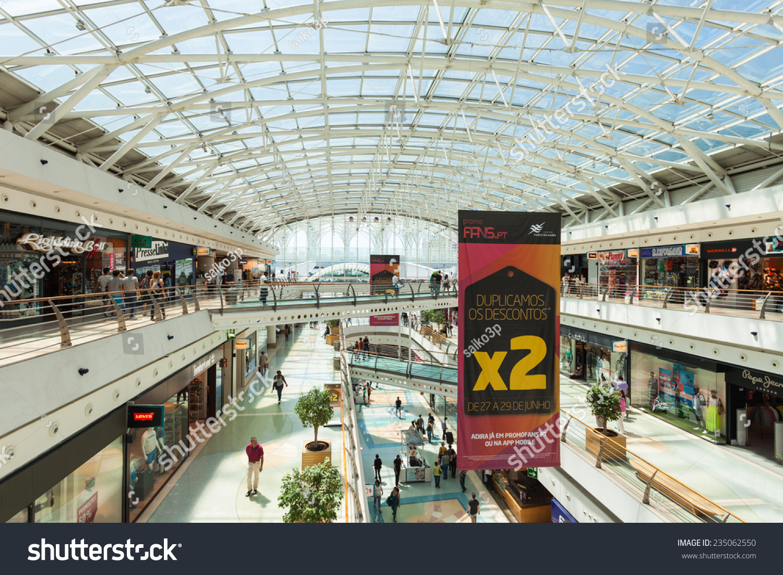 Lisbon portugal june 26 vasco de stock photo 235062550 shutterstock lisbon portugal june 26 vasco de gama shopping mall on june 26 sciox Gallery