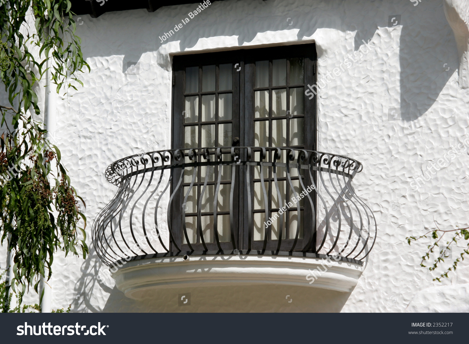 Spanish style balcony stock photo 2352217 shutterstock for Balcony in spanish