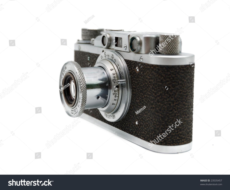 stock-photo-old-rangefinder-vintage-came