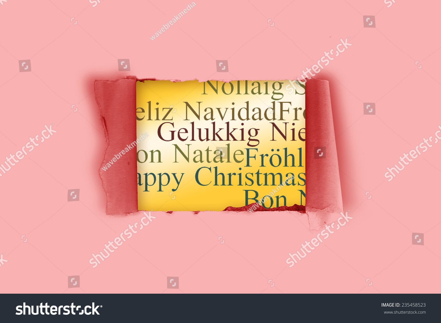 Rip paper against holiday greetings different stock illustration rip paper against holiday greetings different stock illustration 235458523 shutterstock m4hsunfo