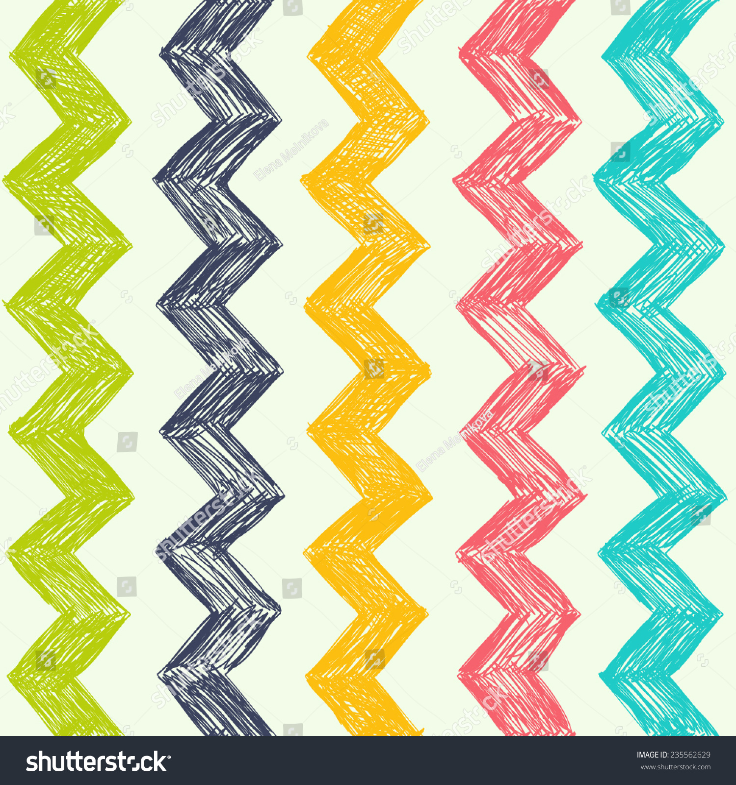 Wallpapers pattern fills web page backgrounds surface textures - Vector Simple Pattern With Zag Zag Background Can Be Used For Wallpapers Pattern Fills