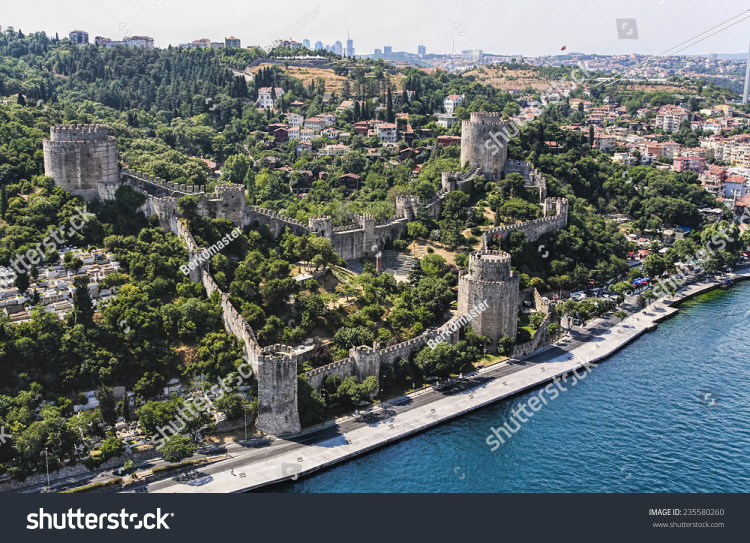 Rumeli Fortress Stock Photo 235580260 - Shutterstock