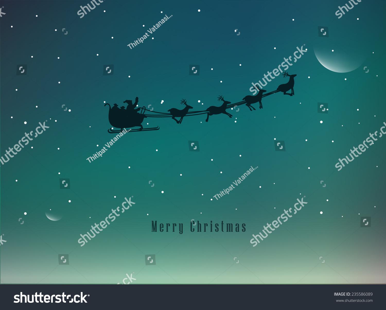 Elegant Christmas Background With Snowflakes Stock Vector: Vector Illustration Elegant Christmas Background Stock