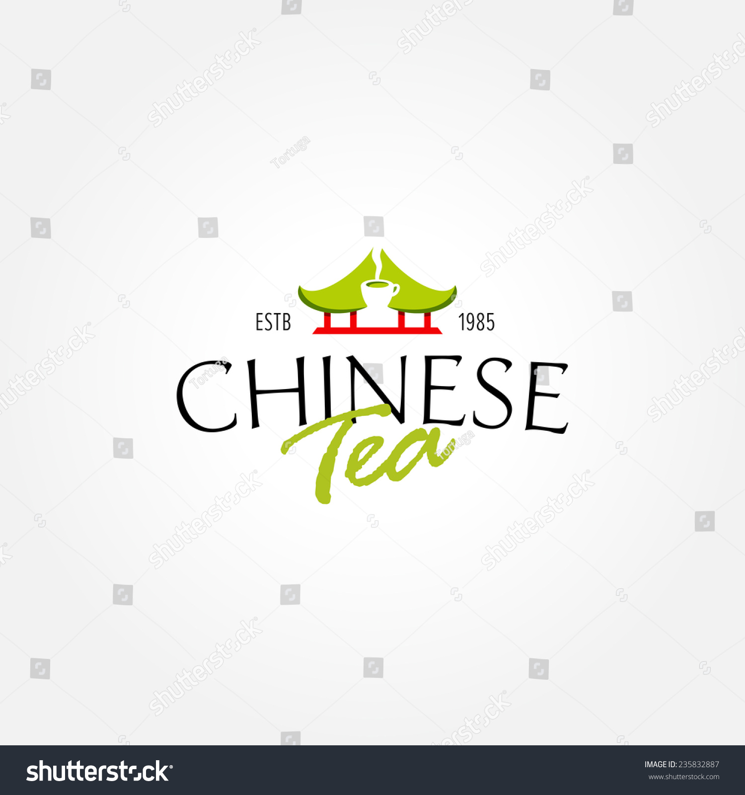 Chinese tea logo symbol icon tea stock vector 235832887 shutterstock chinese tea logo symbol icon for tea shop cafe tea house restaurant buycottarizona Image collections