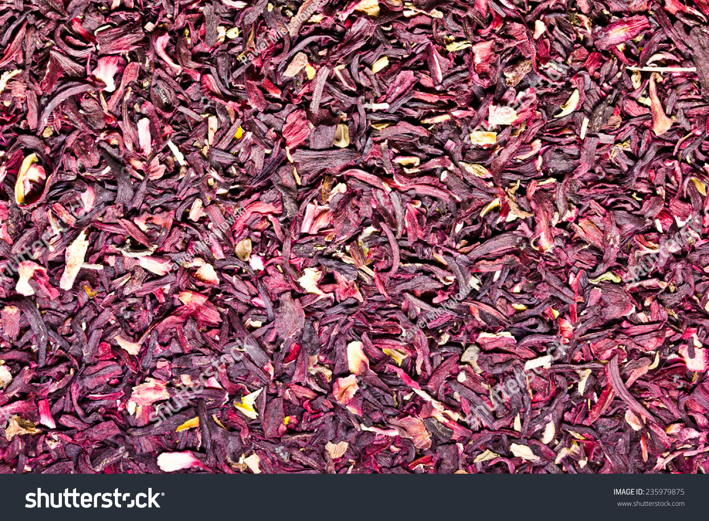Hibiscus Dry Flower Texture Stock Photo Edit Now 235979875