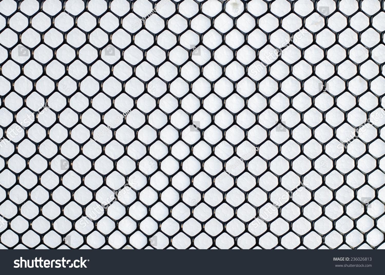 Wire Mesh Net Texture Pattern White Stock Photo 236026813 - Shutterstock