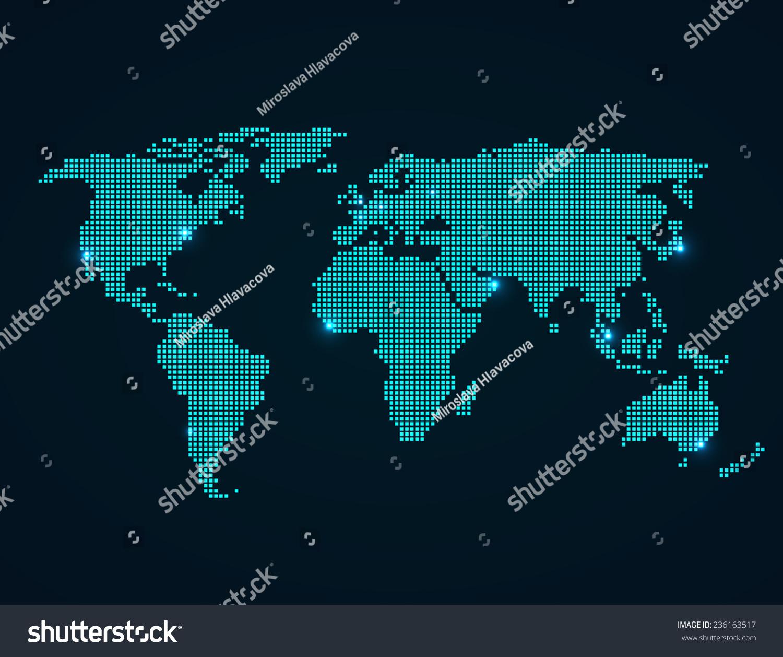 World map folded squares vector illustration stock vector 236163517 world map folded squares vector illustration stock vector 236163517 shutterstock gumiabroncs Choice Image