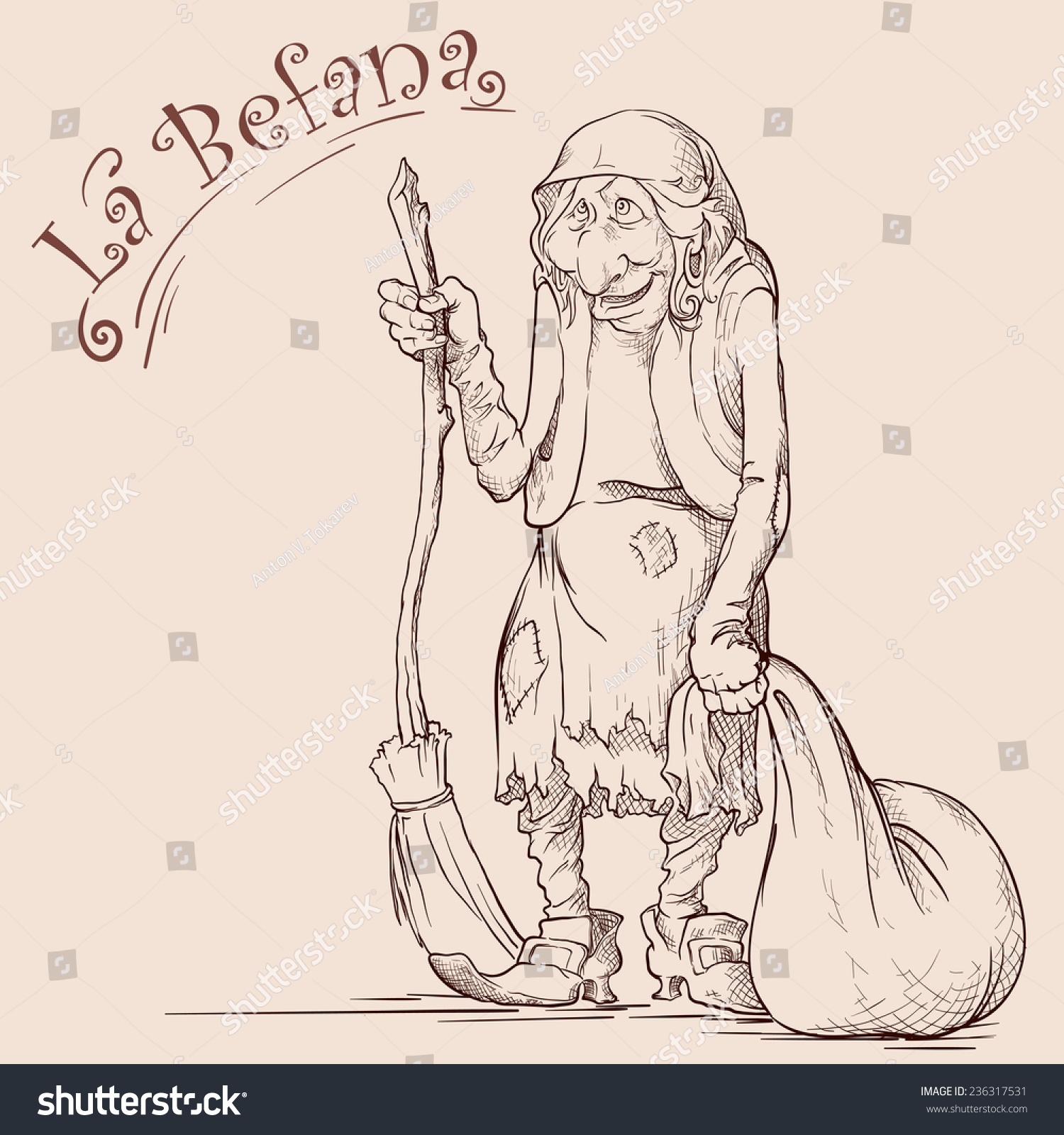 Nice La Befana Coloring Page Inspiration - Ways To Use Coloring ...