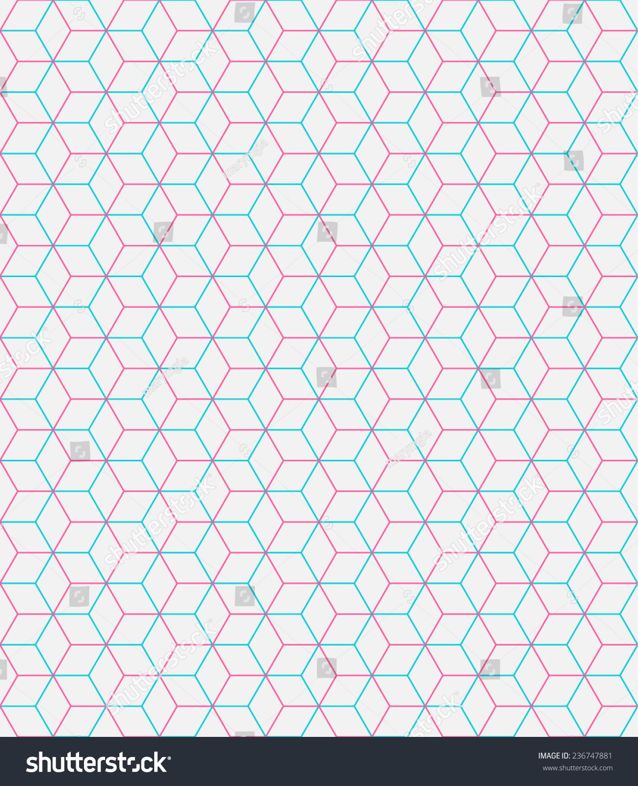 blue hexagonal pattern vector - photo #10