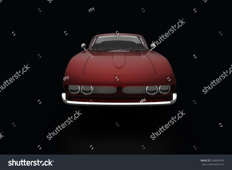 Unique Sports Car Stock Illustration Royalty Free Stock