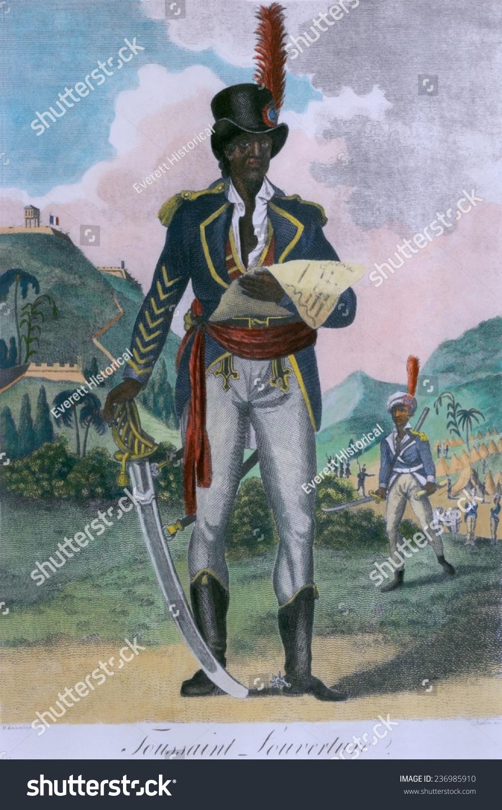 Toussaint L'Ouverture (1843-1803) Leader Of The Haitian ...
