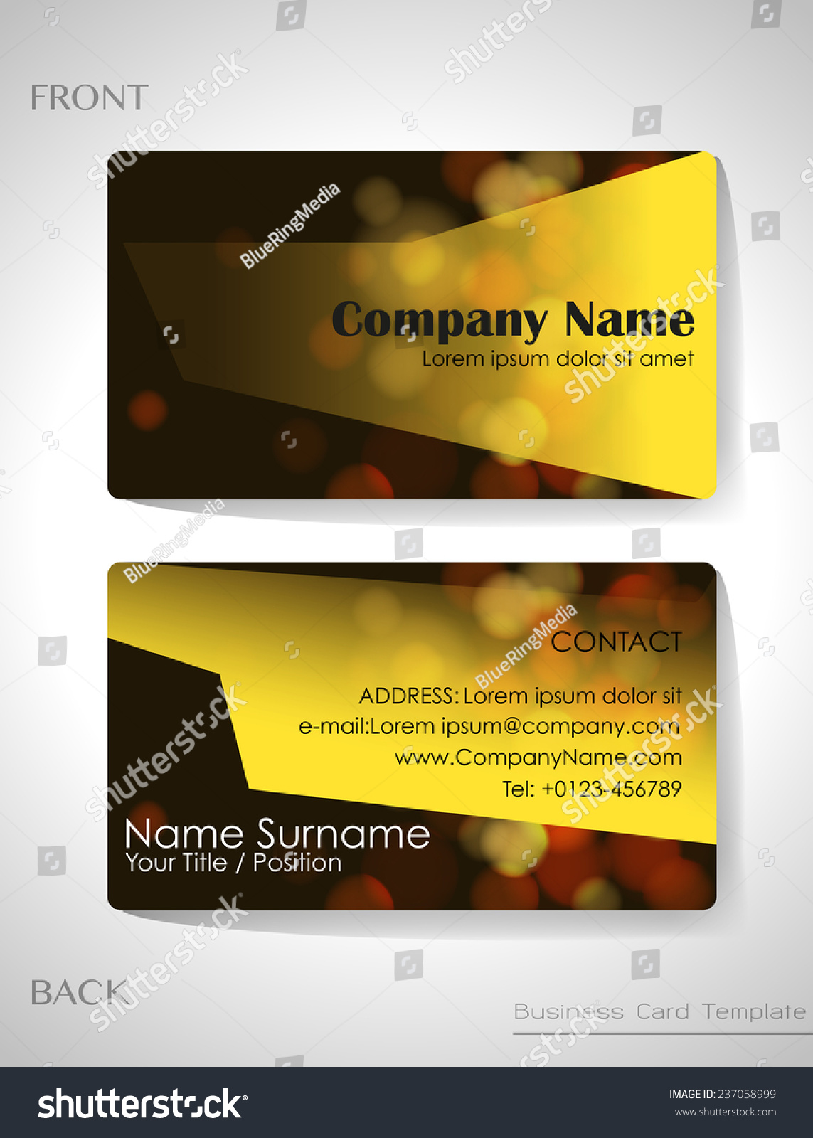Back business card images free business cards front and back business card template word images free business front and back business card noc magicingreecefo Images
