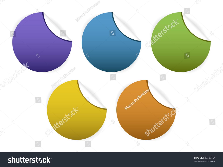 Web 20 Badges Buttons Stock Vector 23708704 - Shutterstock