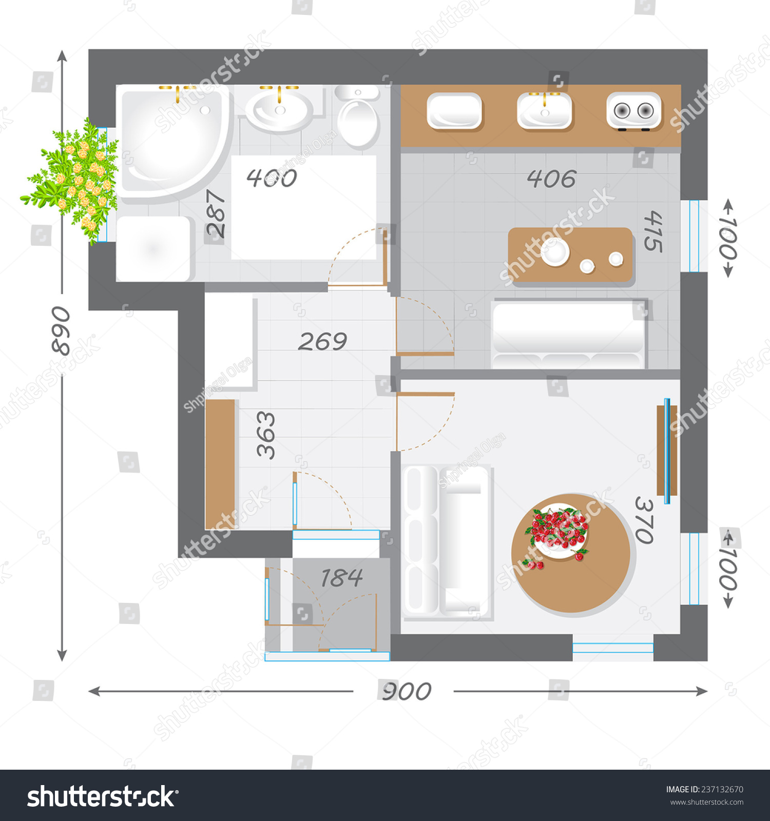Project plan for building a house