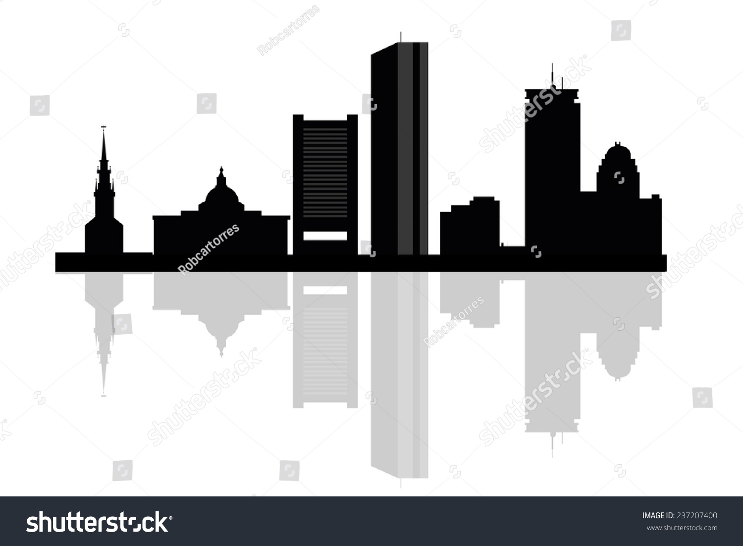 boston city skyline silhouette background vector stock vector 2018 rh shutterstock com  boston skyline silhouette vector