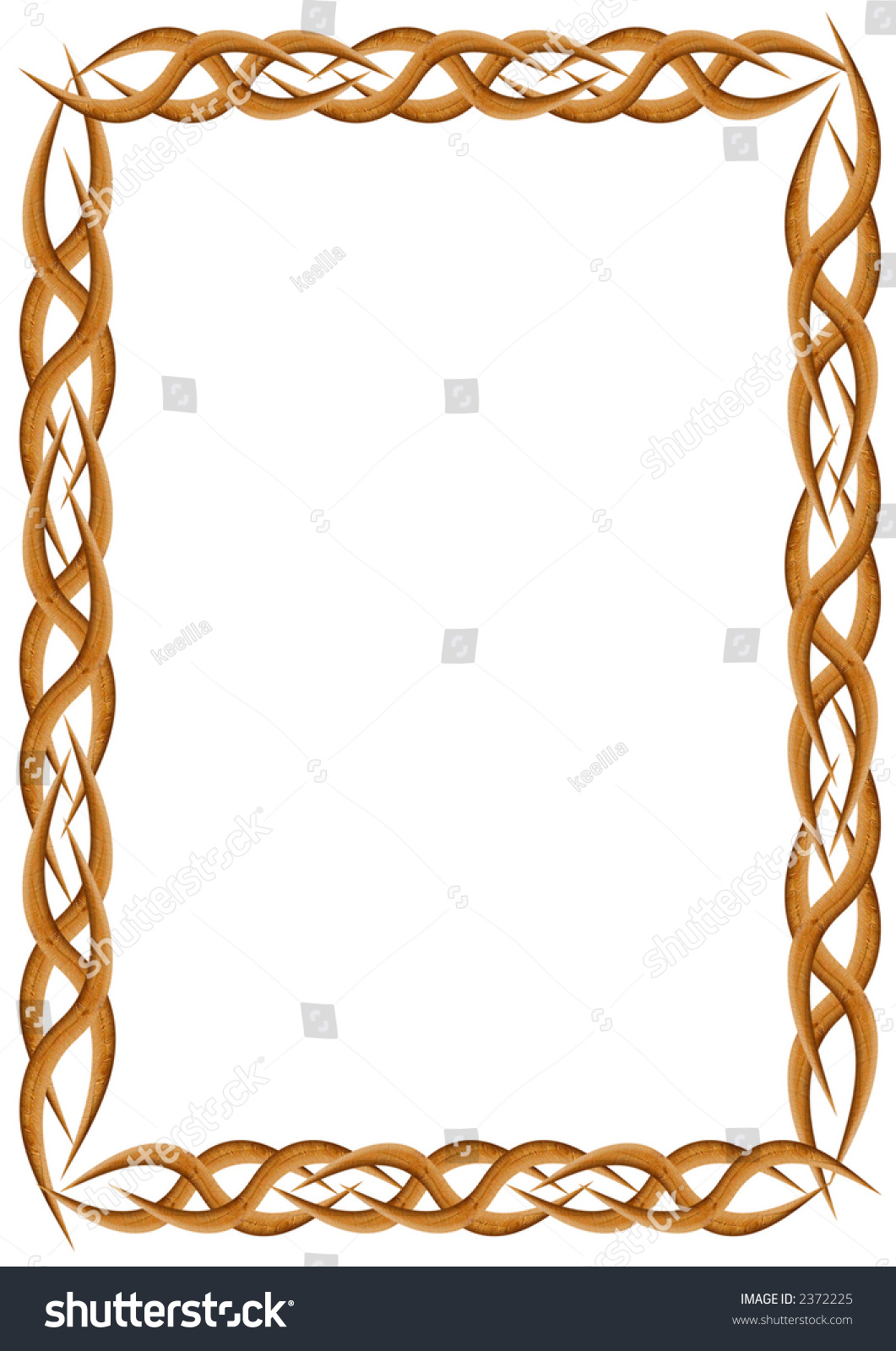 High Resolution Wooden Frame Stock Photo (Edit Now) 2372225 ...