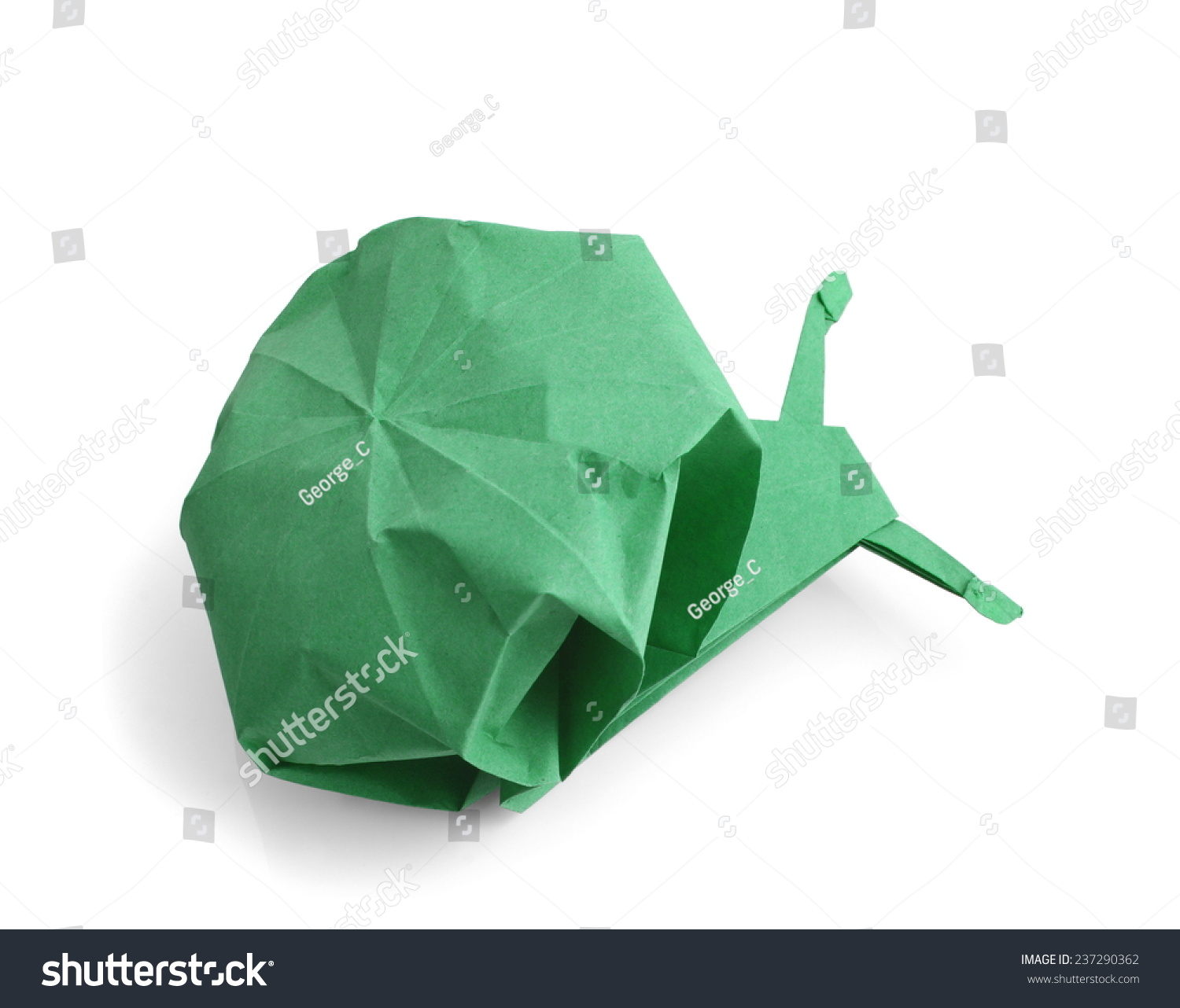 An origami snail goes to buy a car…. - Origami Expressions | 1282x1500