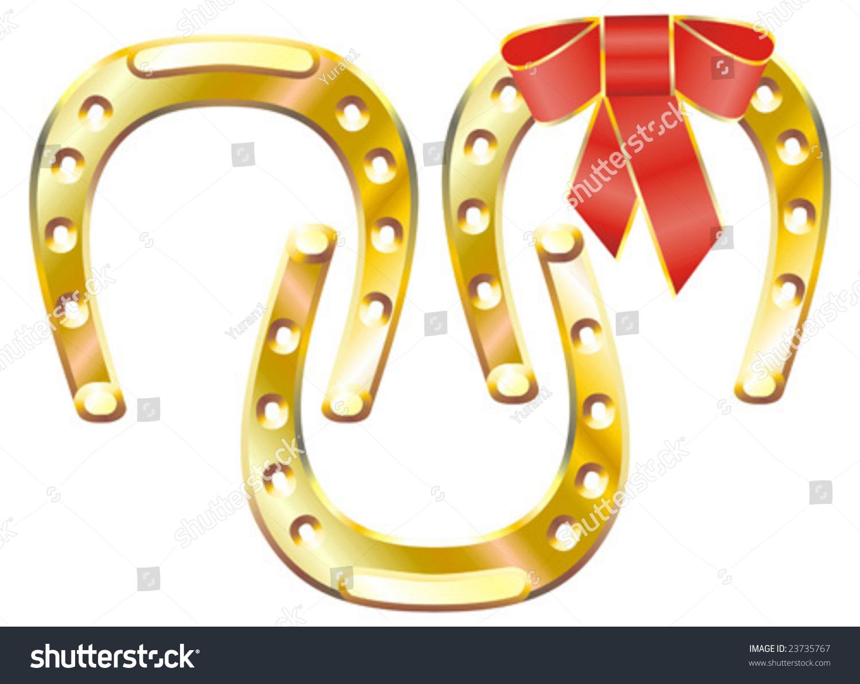 Horseshoe good luck symbol stock vector 23735767 shutterstock horseshoe as a good luck symbol biocorpaavc Choice Image