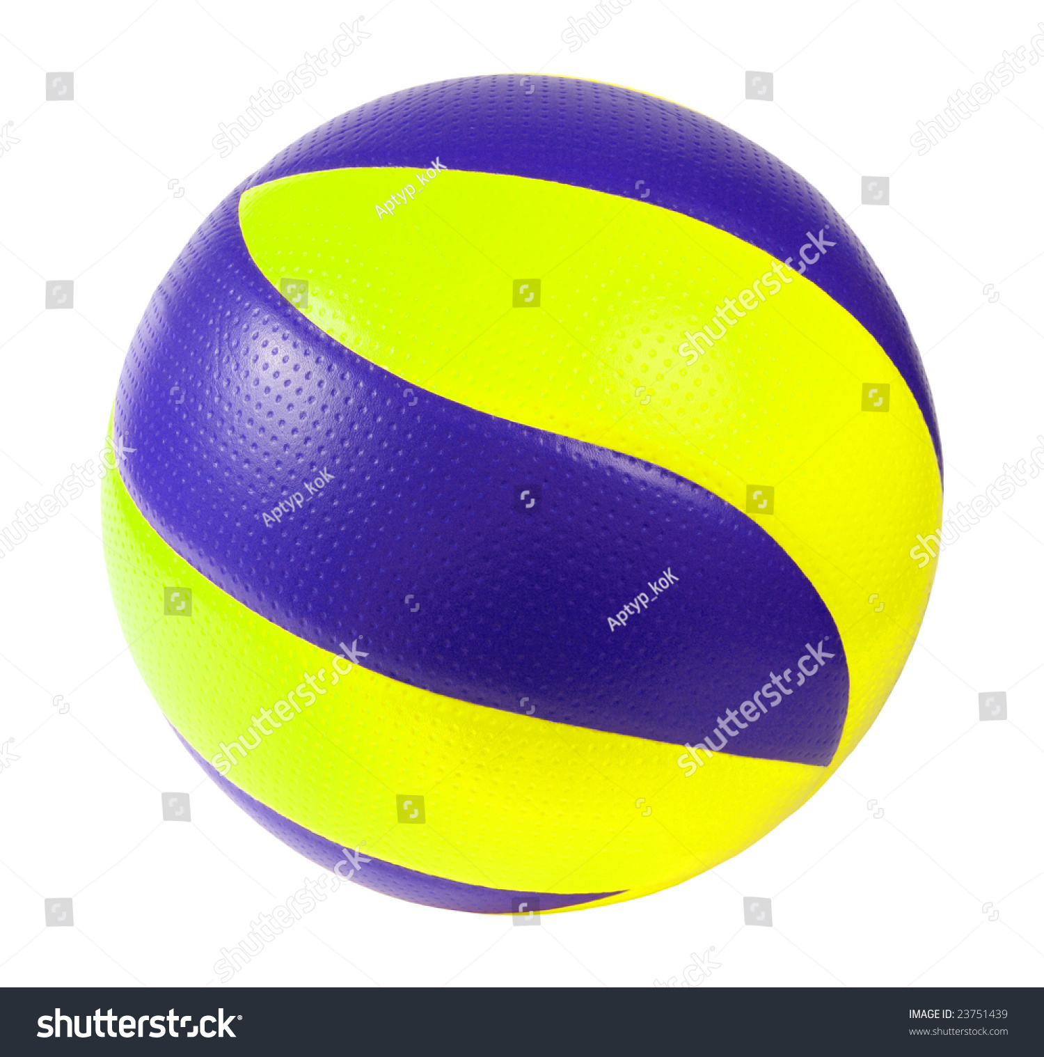 dark blue and yellow soccer ball on a white background