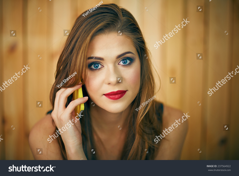 beauty girl face make - photo #20